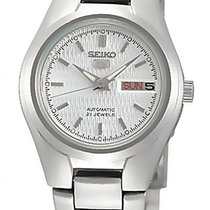Seiko 5 Steel 24mm Silver