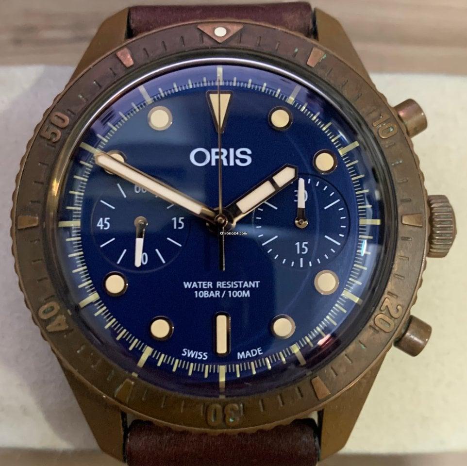 Oris Carl Brashear 01 771 7744 3185-Set LS pre-owned