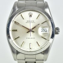 Rolex Oyster Precision Steel 34mm Silver No numerals United Kingdom, Bradford