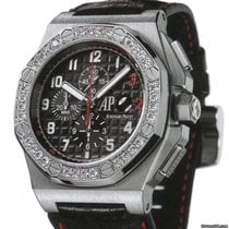 Audemars Piguet White gold Automatic Black Arabic numerals 48mm new Royal Oak Offshore Chronograph