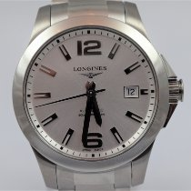 Longines Steel 39mm Automatic L3.776.4.58.6 pre-owned