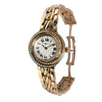 Cartier Trinity Yellow gold 27mm White Roman numerals United States of America, New York, Greenvale