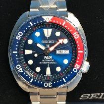 Seiko Prospex Steel 45mm Blue No numerals United States of America, Massachusetts, Boston