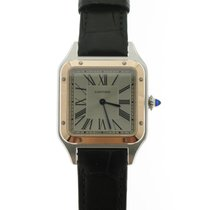 Cartier Santos Dumont new 2021 Quartz Watch with original box and original papers W2SA0011