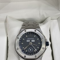 Audemars Piguet Royal Oak Offshore pre-owned 39mm Blue Date Month Year Steel