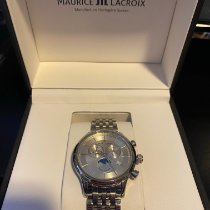 Maurice Lacroix Les Classiques Phases de Lune Steel 40mm Silver No numerals United States of America, Kentucky, Louisville