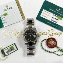 Rolex Oyster Perpetual Date Steel 34mm Black No numerals United States of America, California, Pasadena