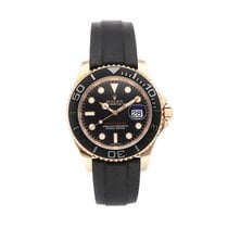Rolex Yacht-Master 40 Rose gold 40mm Black No numerals