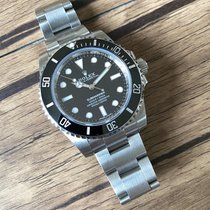 Rolex Submariner (No Date) Steel 40mm Black No numerals United States of America, California, Sunnyvale