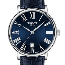 Tissot Carson Steel 40mm Blue Roman numerals United States of America, Massachusetts, Florence