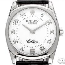 Rolex Cellini Danaos novo 2010 Corda manual Relógio com caixa e documentos originais 4233/9