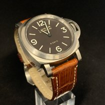 Panerai Luminor Base 8 Days pre-owned 44mm Brown Leather