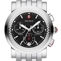 Michele Steel 38mm Quartz MWW01C000012 new