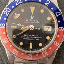 Rolex 1675 Steel 1968 GMT-Master 40mm pre-owned