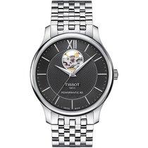 Tissot Tradition neu 2021 Automatik Uhr mit Original-Box und Original-Papieren T0639071105800
