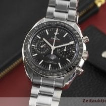 Omega Speedmaster Professional Moonwatch Moonphase Acier 44mm Noir