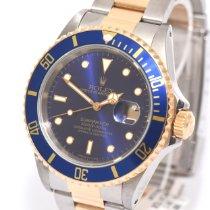 Rolex Submariner Date Gold/Stahl 40mm Blau Deutschland, Hamburg