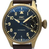 IWC Bronze Automatic Black 46mm pre-owned Big Pilot