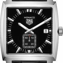 TAG Heuer Monaco Lady Ocel 37mm Černá Bez čísel