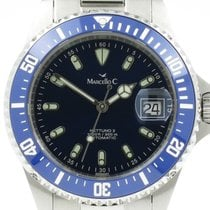 Marcello C. Steel Automatic Blue 40mm new Nettuno 3