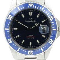 Marcello C. Tridente Steel 44mm Blue