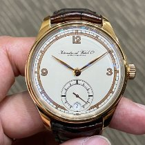IWC Portuguese Hand-Wound Or rose