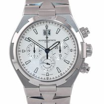 Vacheron Constantin Overseas Chronograph Steel 42mm Silver United States of America, New York, Huntington