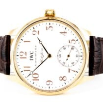 IWC Portuguese Hand-Wound Or rose 43mm Blanc Arabes