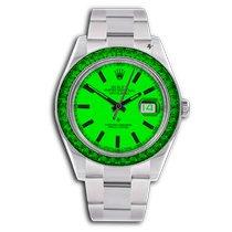 Rolex Datejust II Acier 41mm Vert