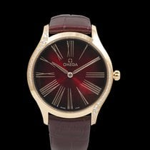 Omega De Ville Trésor Rose gold 36mm Red United States of America, California, Burlingame