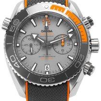 Omega Titanio Automático 45.5mm usados Seamaster Planet Ocean Chronograph