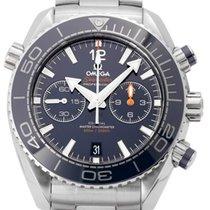 Omega 215.30.46.51.03.001 Acier 2017 Seamaster Planet Ocean Chronograph 45.5mm occasion