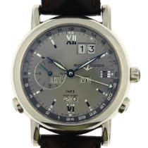 Ulysse Nardin GMT +/- Perpetual White gold 40mm Silver No numerals United States of America, Georgia, Johns Creek