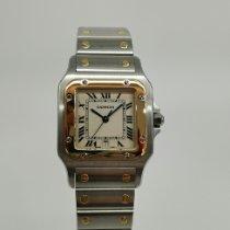Cartier Santos Galbée Acero y oro 29mm Blanco Romanos España, Boo de Pielagos
