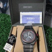 Seiko Acero 41mm Cuarzo Sced055 nuevo