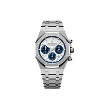 Audemars Piguet Royal Oak Chronograph Acero 38mm Blanco Sin cifras