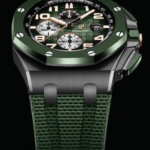 Audemars Piguet Royal Oak Offshore Chronograph Ceramic 44mm Green United States of America, Florida, Sunny Isles Beach