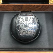 Franck Muller pre-owned Automatic 44mm Black Sapphire crystal