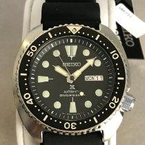 Seiko Prospex Steel 44mm Black No numerals United States of America, Massachusetts, Boston