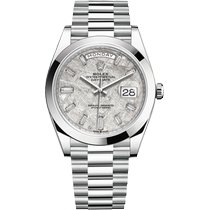 Rolex Day-Date 40 228206-0036 New Platinum 40mm Automatic