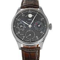 IWC Portuguese Perpetual Calendar White gold 44mm Grey Arabic numerals United States of America, Maryland, Baltimore, MD