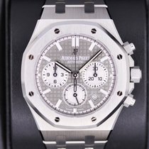 Audemars Piguet Royal Oak Chronograph Steel 38mm Grey No numerals United States of America, New York, New York