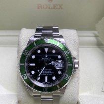 Rolex Acero Automático Negro Sin cifras 40mm usados Submariner Date