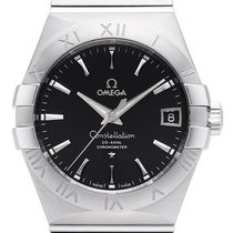 Omega Constellation Men 123.10.38.21.01.001 New Steel 38mm Automatic