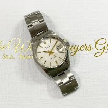 Rolex Oyster Precision Steel 34mm Silver No numerals United States of America, California, Pasadena