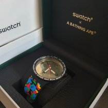 Swatch (SO27Z708) Unworn Plastic 47mm Quartz UAE, abudhabi