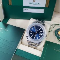 Rolex Datejust II Steel 41mm Blue No numerals United States of America, California, Los Angeles