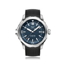 IWC Aquatimer Automatic Steel 42mm Blue No numerals