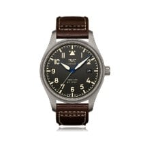 IWC Pilot Mark Titanium 40mm Black Arabic numerals United States of America, New York, New York