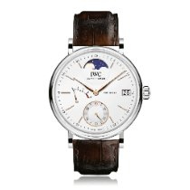 IWC Portofino Hand-Wound Steel 45mm Silver No numerals United States of America, New York, New York